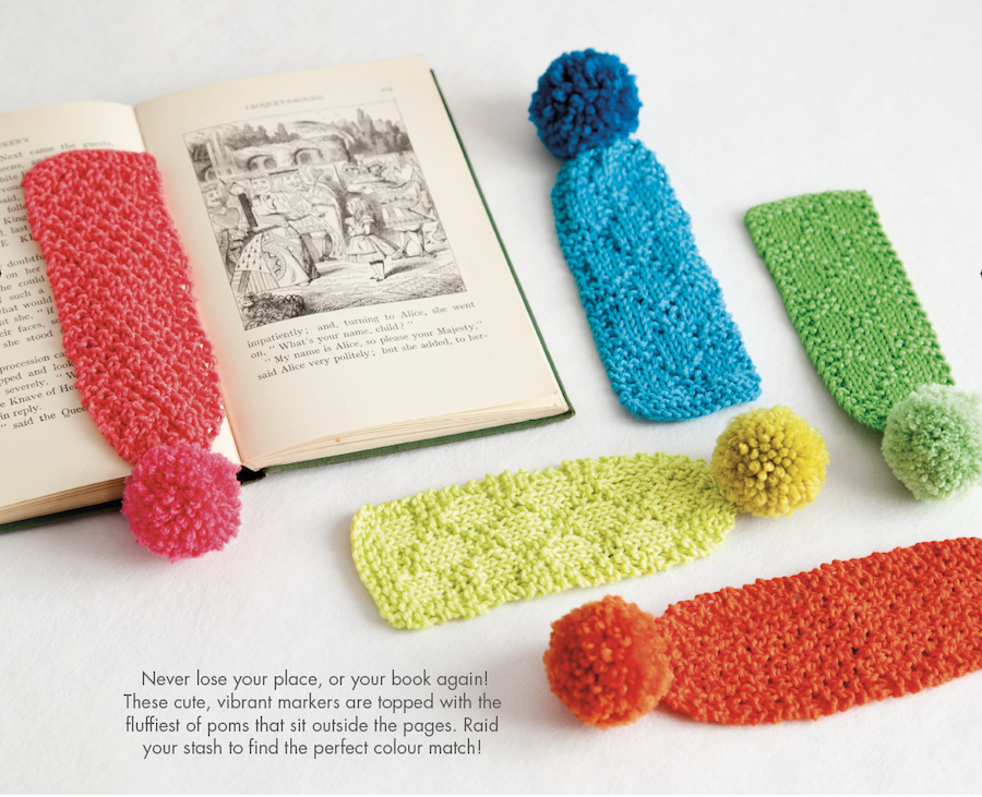 Pompom Bookmarks Stylish Uk